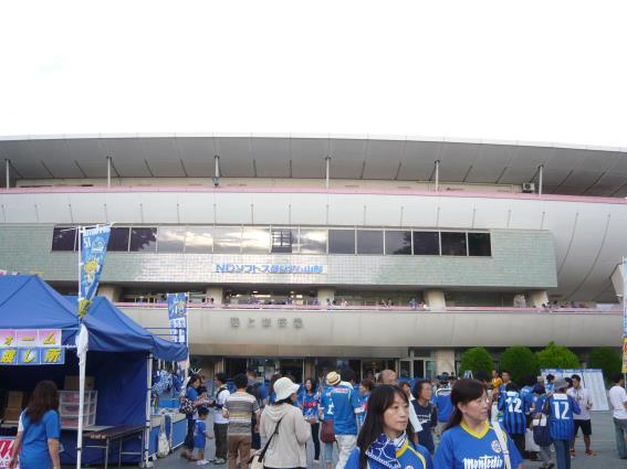 門構え日本一、エントリーNo.2のNDソフトスタジアム山形です
