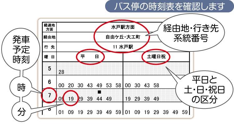 岐阜バス時刻表
